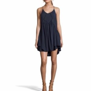 Romeo and Juliet Couture navy babydoll dress